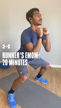 Engage your lower body in this 20 minute runner's EMOM workout. Emom Workout, Prenatal Workout, Tabata Workouts, Strength Training Workouts, At Home Workouts, Cycling Workout, Workout Gear, Running Motivation, Fitness Motivation