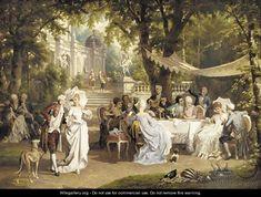 The garden party - Karl Schweninger