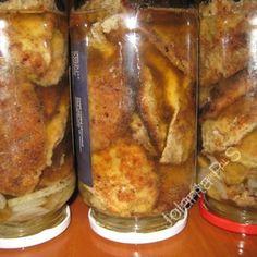 Przepisy Kulinarne, Smażone kanie marynowane Polish Recipes, Preserves, Pickles, Pantry, French Toast, Favorite Recipes, Homemade, Canning, Meat