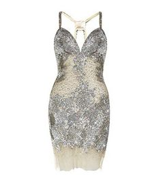 JOVANI Beaded Short Dress   £649.00   Dare to bare in Jovani's nude mesh dress with strategically placed beads and a mesh lining.
