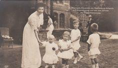 Großherzogin Alexandra v Mecklenburg Schwerin P Hannover in Gelbensande 1910
