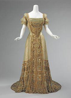 1910 Silk Ball Gown