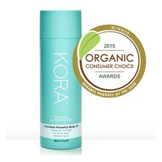 We're very excited to announce that our Luxurious Rosehip Body Oil 80ml was voted Organic Product of the Year at the Organic Consumer Choice Awards! Thank you to everyone who voted for our product! xxx #KORAOrganics