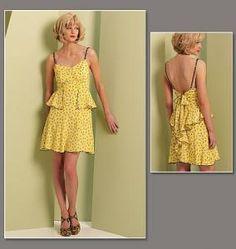 Anna Sui Misses Dress pattern 12-18 by sunpatterns