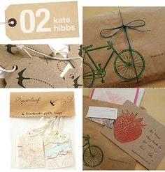 Craft cards to go with brightly colored photos.