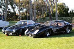 Ferrari 250 GT TdF Zagato 1957 Maserati 450SZ Berlinetta Zagato 1957 2
