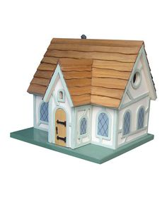 This Fairy Tale Cottage Birdhouse is perfect! #zulilyfinds
