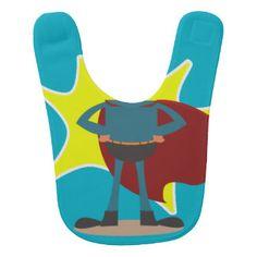 Superhero Baby Bibs | Zazzle