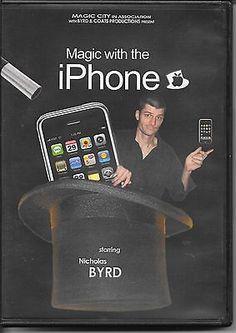 Magic with the iPhone NIcholas Byrd DVD Magic Tricks X-ray iWallet 2 disc set Collectibles:Fantasy, Mythical & Magic:Magic:Tricks www.webrummage.com $19.99