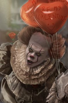 Pennywise stuff I guess? Clown Horror, Horror Monsters, Arte Horror, Horror Art, Le Clown, Creepy Clown, Scary Movies, Horror Movies, Bill Skarsgard Pennywise