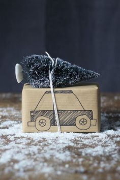 The 10 Most Gorgeous Christmas Gift-Wrapping Ideas on Pinterest #purewow #pinterest #holiday #home