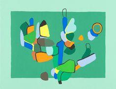 Ernst Mether-Borgström: Vihreä vihreällä | Galleria Bronda