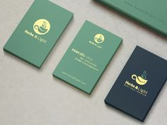 Herbs & Light Tea | LOGO & BRANDING | on Behance