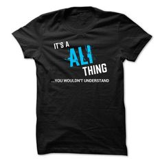 SPECIAL - It a ALI thing - #design shirts #funny shirt. TRY => https://www.sunfrog.com/Funny/SPECIAL--It-a-ALI-thing.html?id=60505