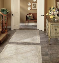 Heathland 12 x 12 - White Rock Floor Tile