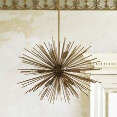 Starburst chandelier - Rustic design and decor for natural elements such as twigs, bark, logs and other types of wood. You can easily find a rustic Rustic Chandelier, Chandelier Ceiling Lights, Room Lights, Chandeliers, Ceiling Shades, Ceiling Rose, Lights Fantastic, Mirror With Lights, Hanging Lights