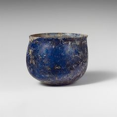 Glass cup 1st C Roman The Met