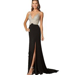 LondonProm TT6 beading Evening Dresses party full length prom gown ball dress robe (8, BLACK) LondonProm http://www.amazon.co.uk/dp/B00NO07AXS/ref=cm_sw_r_pi_dp_yx3Fub17EV7FE