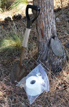 Video: Make a portable privy or 'How to do number two' in the woods | Survival Common Sense: tips and how-to guide for emergency preparedness and survival