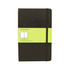 Moleskine Hard Cover Notebook Plain. The traditional Moleskine Hard Cover Notebooks are sturdy thread-bound notebooks that can capture your thoughts, drafts, sketches, notes, appointments. Destined to become your reliable analog laptop, your library, your home away from home.