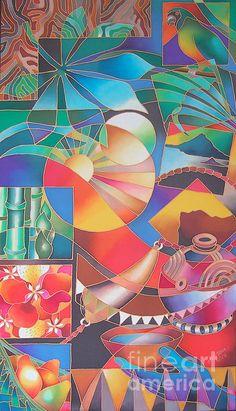 Wai Mai Vanua Ii Poster By Maria Rova