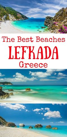 best beaches in Lefkada Greece, Lefkada beaches, Lefkas beaches Greece Planning a trip to Lefkas island and looking for the best Lefkada beaches? In this post, find the best beaches in Lefkada island Greece Greece Honeymoon, Greece Vacation, Greece Travel, Greece Beaches, Best Island Vacation, Best Vacation Destinations, Summer Vacations, Zakynthos, Mykonos Greece