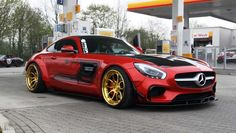 Prior Design AMG GT Spotted En Route to Monaco