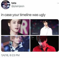 My timeline is full of these bitches so its not even nesr ugly but thank you