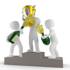 Awards and Trophies the Best Rewards for You 3d Figures, Stick Figures, Easy Money Online, Wedding Invitation Background, Sculpture Lessons, 3d Man, Emoji Images, Marketing Articles, Victoria