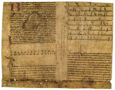 550 year old (from 1447) script specimen sheets by a scribe, advertising the range and quality of penmanship. From Münster north of Bentheim.