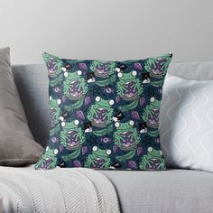 Frogs, Color Patterns, My Arts, Throw Pillows, Art Prints, Printed, Awesome, Products, Art Impressions