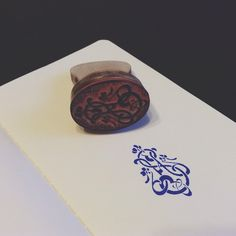 Gorgeous stamp of Stroganov Hotel monogram produced by Hotels Portugal, Hotel Spa, Event Venues, Monogram, Branding, Stamp, Instagram Posts, Design, Brand Management