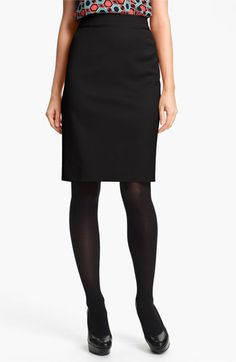 Classiques Entier® 'Taylor - Dobby' Skirt available at Nordstrom
