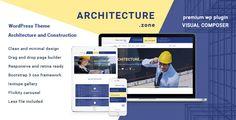 Architecture Zone - Architecture and Construction WordPress Theme