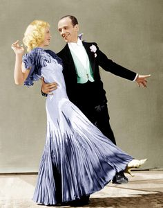 The Gay Divorcee, Ginger Rogers & Fred Astaire