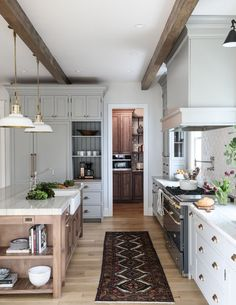 Park and Oak Hinsdale Kitchen // neutral cabinet paint colors for kitchens from the Grit and Polish