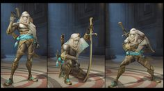 ArtStation - Overwatch - Genji's Bedouin/Nomad Skins, Renaud Galand