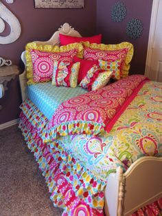 Custom Bedding Kumari Garden by LikeMyMotherDoes on Etsy