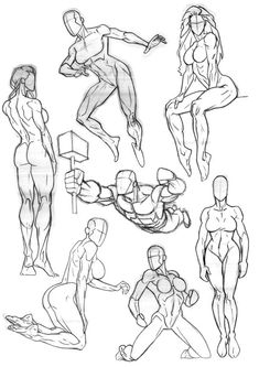Anatomy Drawing Reference Sketchbook Anatomy 3 by - Body Reference Drawing, Female Drawing, Human Figure Drawing, Figure Sketching, Body Drawing, Art Reference Poses, Anatomy Reference, Photo Reference, Anatomy Sketches