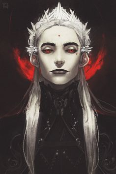 half-elf, Lord Everrel, lives in a secluded tower Character Concept, Character Art, Concept Art, Sauron Face, Dnd Characters, Fantasy Characters, Chef D Oeuvre, Arte Horror, Character Portraits