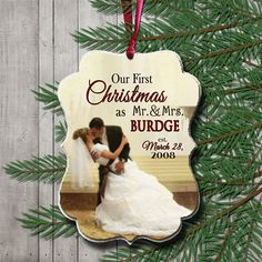 Our First Christmas Ornament Anniversary by posiesinmypocket1