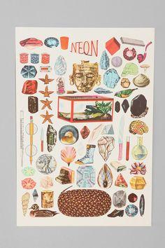 Neon Print By Amber Ibarreche