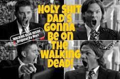 Jeffrey Dean Morgan cast as Negan on the Walking Dead