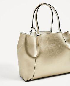 Image 4 of REVERSIBLE TOTE BAG from Zara