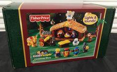 Fisher Price Little People Nativity Scene Christmas Story Set Lights Sounds NEW  | eBay