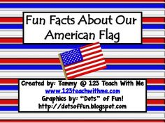 American Flag: Fun Facts and Craft