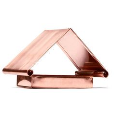 Flythrough Copper Bird Feeder from the Modern Farmer Shop
