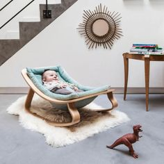 Buy Charlie Crane Levo Baby Rocker online with Houseology's Price Promise. Full Charlie Crane collection with UK & International shipping. Modern Baby Furniture, Nursery Furniture, Kids Furniture, Furniture Logo, Baby Boy Rooms, Baby Cribs, Baby Bedroom, Nursery Room, Kids Rooms