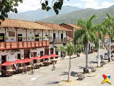 Santa Fe de Antioquia Backpacking South America, South America Travel, Largest Countries, Countries Of The World, Cities, South America Destinations, Spanish Speaking Countries, How To Speak Spanish, Balconies