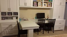 T-Shaped Desks,Custom, computer desk, remodeling, home office, remodel, cabinets, Spring, The Woodlands, Houston, Conroe, Tomball, Magnolia, Kingwood, Humble, Sugarland, Texas, tx Custom-wood-creations.com CWCbyJohn@gmail.com